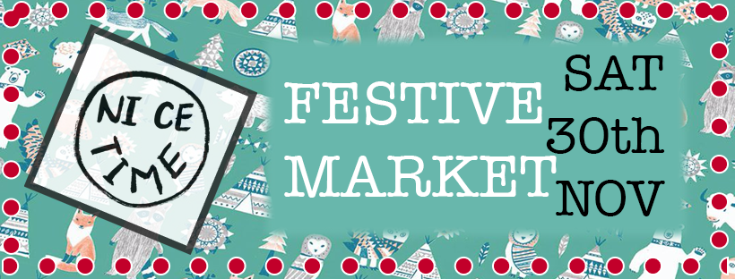 Poster: Saturday 30th November Indoors Festive Market